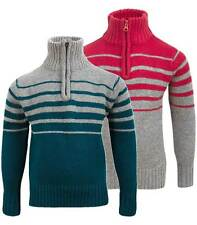 Boys' Acrylic Zip Neck Jumpers & Cardigans (2-16 Years)