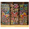 10 Sheets Colorful Butterflies Scrapbooking Bubble Puffy Stickers Reward Toys HV