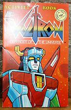 VOLTRON Defender Of The Universe Action Figure Activity Book Vintage 1984