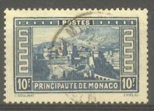 """MONACO STAMP TIMBRE N° 133 """" PALAIS PRINCIER 10F BLEU """" OBLITERE TB"""