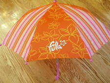 """Fulla Young Girls Orange And Pink 26"""" Umbrella For Eid"""