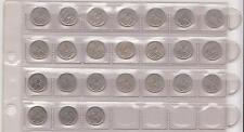 Lot pièces de 25 cts