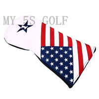 1pc USA Stars&Stripes Design Golf Driver Wood Head Cover for Taylormade Callaway