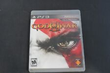 God Of War 3 PS3 Video Game Sony Playstation Good Condition W/ Case Rated M