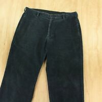 Brooks Brothers 346 wide wale corduroy pants 36 x 28 (36 x 30 tag) flat front