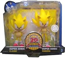 Super Sonic the Hedgehog 20th Anniversary set New Factory Sealed Toys-R-US Excli
