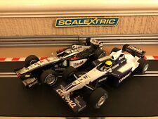 Scalextric F1 Mclaren MP4-16 No4 & Williams FW23 No5 Serviced Good Condition
