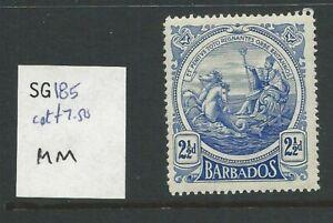 BARBADOS KGV Sg185 mounted mint