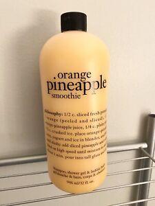 Philosophy Orange Pineapple Smoothie 32 oz. Sealed with Pump