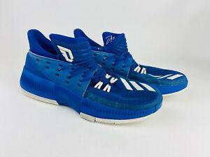 Adidas Dame3 Bounce Royal Blue Lillard Size 10.5