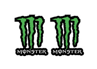 ADESIVI MONSTER ENERGY GRAFFIO STICKERS  DECALCO ADESIVO moto cross enduro