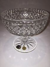 Bohemia Crystal Whiskey Glass/Tumbler Made in Czech Republic