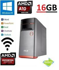 ASUS M32BF-AU00T AMD 10-7800  16 GB 120GB SSD+1TB AMD R7-340 WIFI WIN10/OFFICE