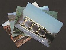 Amtrak Postcards Lot 4 New Mexico, Pacific Northwest, Virginia, West Virginia
