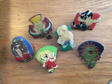 Street Fighter II pin badges Ken - Capcom - Ken - Balrog - Sagat - US seller