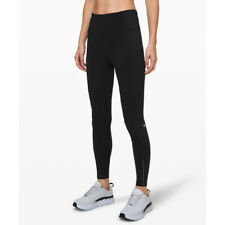 "Lululemon Women's Fast and Free High-Rise Tight 28"" Reflective-Black"