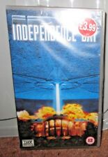 Independence Day - VHS Tape - Digitally Mastered THX - NEW - SEALED - 12