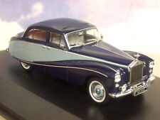 OXFORD DIECAST 1/43 ROLLS ROYCE SILVER CLOUD HOOPER EMPRESS 2 TONE BLUE 43EMP002
