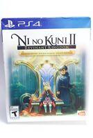 Ni no Kuni II Revenant Kingdom Premium Ed. (PlayStation 4 PS4) NEW w/ steelbook