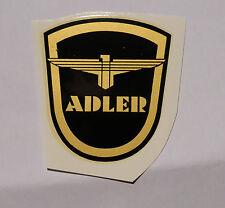 Adler Wasserabziehbild  Abziehbild 64x71mm 00100A schwarz-gold