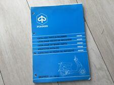 Piaggio Skipper 125 / 150 Spare parts catalogue