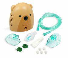 Child Pediatric Aerosol Compressor System with Full Mask Kits Treats Asthma Bear