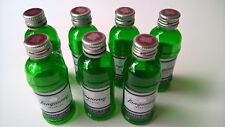 7 EMPTY Tanqueray London Dry Gin 50 ml Miniature Plastic Liquor Bottles