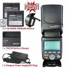 YONGNUO YN686EX-RT wireless HSS speedlite flash for Canon 60D 7000D + Battery