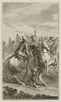 CHODOWIECKI (1726-1801). Herzog v. Schwaben ersticht Kaiser Albrecht v. Österr.1