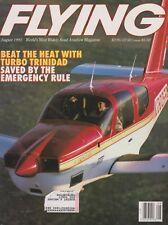 Flying Magazine (Aug 1991) (TB20 Trinidad, Emergency Rule, Rotorway Exec 90)
