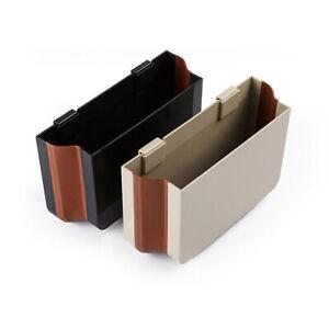 Folding Car Trash Rubbish Can Garbage Dust Dustbin Box Case Holder Bin Hook