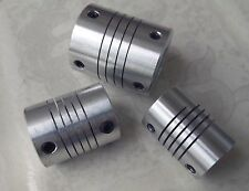 3pc 12MM x 12.7MM Flexible Shaft Ballscrew Coupler Coupling Linear Motion 25D30L