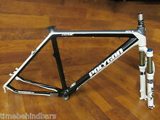 RARE POLYGON RXX COZMIC CARBON 26ER DISC FRAME FOX RLC F32 SUSPENTION FORK