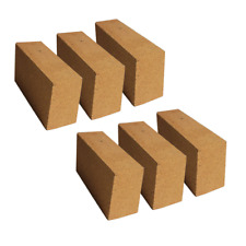 30% Alumina Refractory Fire Brick Kit 2498°F of 6 replacements 9