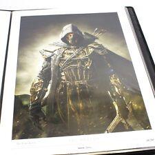 Elder Scrolls Online ESO THE BRETON Lithograph Print Art Limited Edition #168