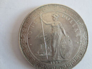 China , Grossbritannien, 1899, One Dollar , Handelsdollar