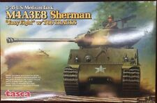 Tasca 35-020 1/35 M4A3E8 Sherman Model Tank w/T66 Tracks NEW!