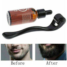 Roller Derma für Bartwachstum, Bart und Haar stimulieren Serum, Haarpflege-Kit