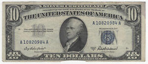 $10 1953-A Silver Certificate Small Size Fr#1707