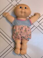 Vintage1990 Cabbage Patch Doll Hasbro First Edition Original Clothing Blue Eyes