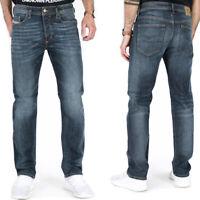 Diesel Herren Regular Slim Fit Stretch Jeans - Mittel Blau - Buster R58K8