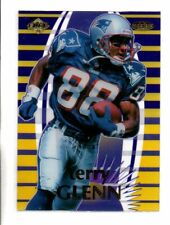 1999 COLLECTOR'S EDGE TERRY GLENN MASTERS #rd 3000