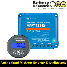 Victron Energy MPPT 75/10 Solar Charge Controller & BMV-700 Battery Monitor