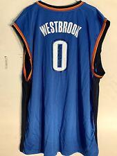 Adidas NBA Jersey Oklahoma City Thunder Russell Westbrook Blue sz 4X