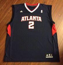 Joe Johnson Atlanta Hawks Adidas Rev 30 Replica Jersey Men's 2XL New With Tags