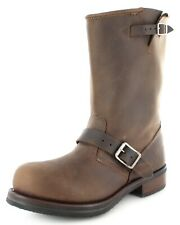 Buffalo Boots Stiefel 1808-B Brown / Damen und Herren Engineerstiefel Braun