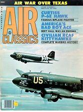 AIR CLASSICS V14 N3 WW2 RCAF P-40 KITTYHAWK / CURTISS P-6E HAWK / RENO UNLIMITED