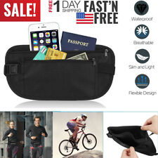 Adjustable Travel Sports Waist Pack Fitness Hiking Running Money Wallet Belt Bag