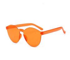 Women Men Fashion Clear Retro Sunglasses Outdoor Frameless Eyewear Glasses