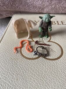Vintage Star Wars Yoda LFL1980 Mint Complete Original Cane, Snake, Cloak & Belt